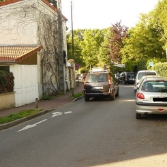 Route de la Faisanderie (du côté du Bon Sauveur...)