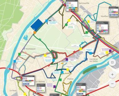 ©Restructuration réseau de Bus en Seine - Sauver Le Vésinet